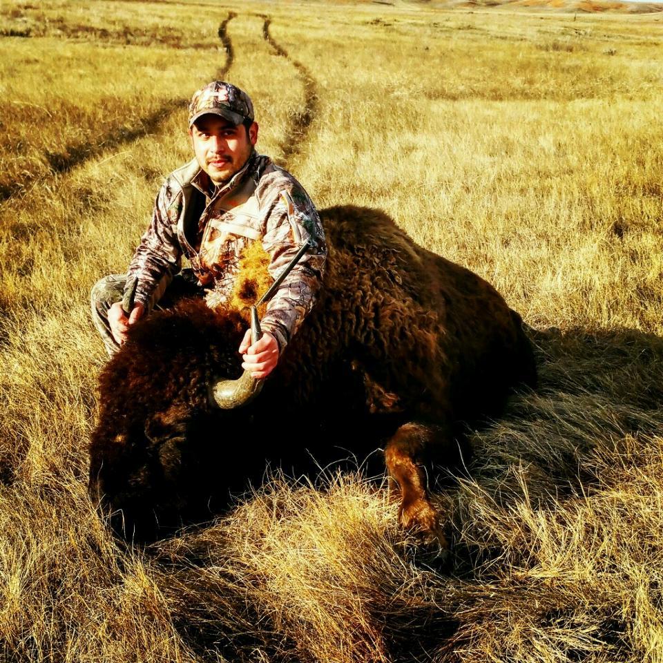 Tom Pinkerton and his 2015 Bison.