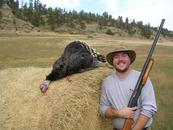 Rick's First Turkey